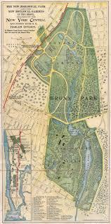 San Francisco Zoo Map by Taking The Train To The Bronx Zoo Botanical Garden 1904 U2013 I Ride
