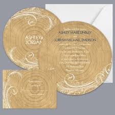 Wedding Invitation Reply Cards Rustic Brown Gold Invitations By David U0027s Bridal Invitations Reply