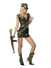 Sexiest Pirate Halloween Costumes Cool Sexiest Military Picture Women Army Halloween