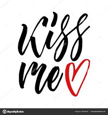 imagenes feliz dia del beso vector había aislado figura feliz día de san valentín con beso negro