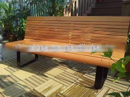 Simple Wooden Park Bench Plans by Camp Furniture Plans Renovation