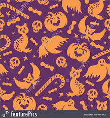 halloween abstract halloween seamless pattern