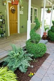 Small Shrubs For Front Yard - small front entry garden with shade tolerant plants plant