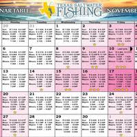 Solunar Tables Fishing U0026 Tides