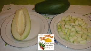 cuisiner la papaye cuisine artisanale d ambanja madagascar le rougail papaye verte