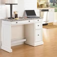 Granite Computer Desk Swing Tubular Leg Desk White Desk For A Modern Office White