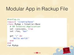 mopcon2014 使用sinatra 結合ruby on rails 輕鬆打造完整full stack