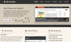 web design software tutorial create a clean and classy web design in photoshop