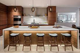 Modern Pendant Lighting For Kitchen 3 Kitchens With Crystalline Modern Pendant Lights