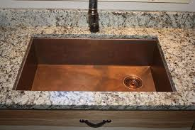 Granite Undermount Kitchen Sinks hundreds of photos of copper sinks installed in kitchens