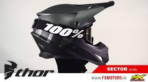 thor motocross helmets casque cross thor mx sector level noir anthracite youtube