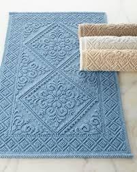 Bath Rugs Designer Bath Mats  Bathroom Mats At Horchow - Designer bathroom mats