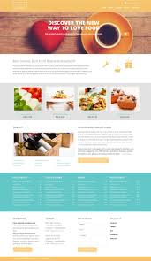 website template 52880 honey european restaurant custom website