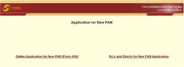 pan card application online valsad pinterest