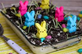 Easter Cakes Decorated With Peeps by Easter Dirt Cake Lil U0027 Luna