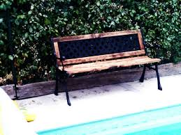 Replace Wood Slats On Outdoor Bench 5 How I Rebuild A Broken Cast Iron Wood Bench Repar Youtube