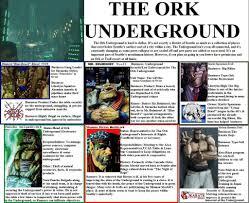 Underground Seattle Map by Location Seattle The Ork Underground Shadowruncontracts Forum