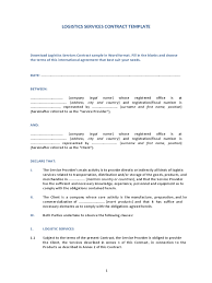 service contract template 12 free templates in pdf word excel