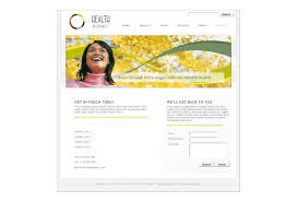 health insurance company web template pack from serif com
