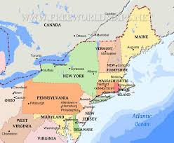 map us northeast map usa east major tourist attractions maps