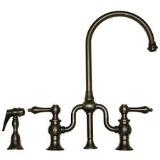 Pewter Kitchen Faucets Kitchen Bridge Faucets Thevintagetaps