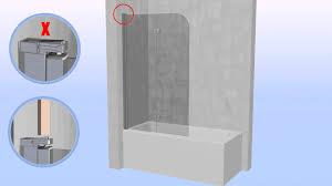bifold bath screen youtube bifold bath screen
