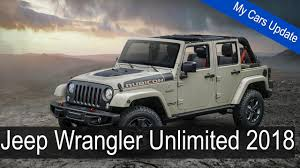 jeep wrangler unlimited 2018 preview jeep wrangler unlimited 2018 unofficial renders