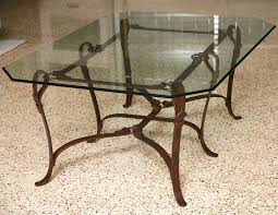 Patio Table Legs Side Table Rod Iron Coffee Table Base Black Wrought Iron Side