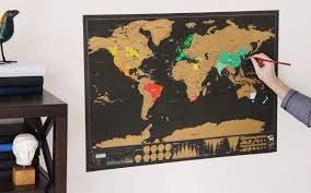 Scratch Off World Map Luckies Of London Scratch Map Youtube