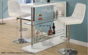 Modern Dining Room Furniture Glass Dining Tables Bar Tables And - Glass top dining table ottawa