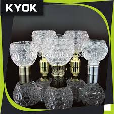Glass Curtain Rod Wholesale High Quality Glass Curtain Rod Finials Chroming 1 Inch
