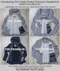 inside pocket innovative sweatshirts fundthis
