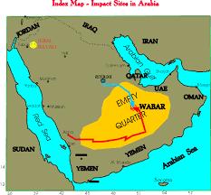 rub al khali map empty quarter expeditions home page