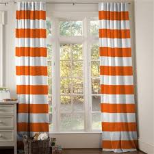 Orange Panel Curtains Orange Drapes And Curtains Coordinating Drape Panels Carousel