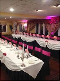 themed quinceanera decorations for 15 birthday party luxury black pink themed