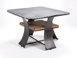 Bar Height Table Legs Going With Wooden Base Metal Table Legs To For Long Term Of Usage