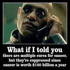 What If I Told You Meme - matrix s morpheus multiple cancer cures