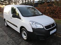 peugeot white 17 17 peugeot partner 1 6hdi se 5 door van u2013 aitchisons garage duns