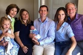 bush family photo includes new addition poppy louise hager upi