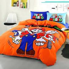 Mario Bedding Set Mario Bedding Set Details About Boys Bedding Bed In A