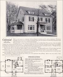 colonial revival house plans 1922 colonial revival 1920s kit houses by homes