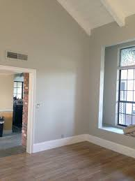 sherwin williams frostwork silvermist with benjamin moore white