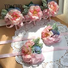 wedding corsages online shop yo cho handmade wedding corsages groom boutonniere