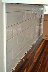 how to do a kitchen backsplash how to add a tile backsplash in the kitchen the duckling house