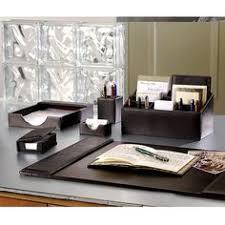 Desk Set Organizer Desk Set Six Pieces Leather Desk Set Desk Accessories