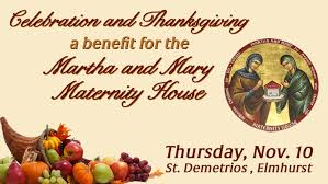 celebration and thanksgiving benefit dinner martha and