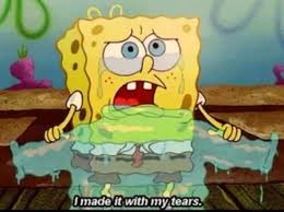 spongebob tear sweater 139 best spongebob images on spongebob stuff