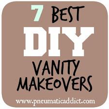 pneumatic addict 7 best diy bathroom vanity makeovers if you have