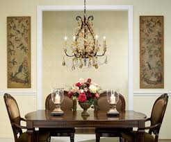 attractive small chandeliers for dining room modern dining room