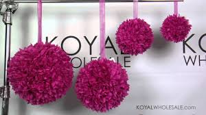 Wholesale Wedding Decorations Kissing Balls And Pomanders By Koyal Wholesale Wedding And Event